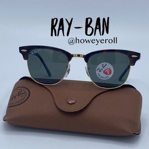 🌟 Ray-Ban 3016 Clubmaster Sunglasses